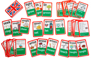 карточки для изучения неправильных глаголов
