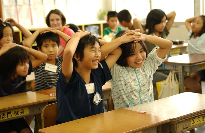 диалог на английском про школу