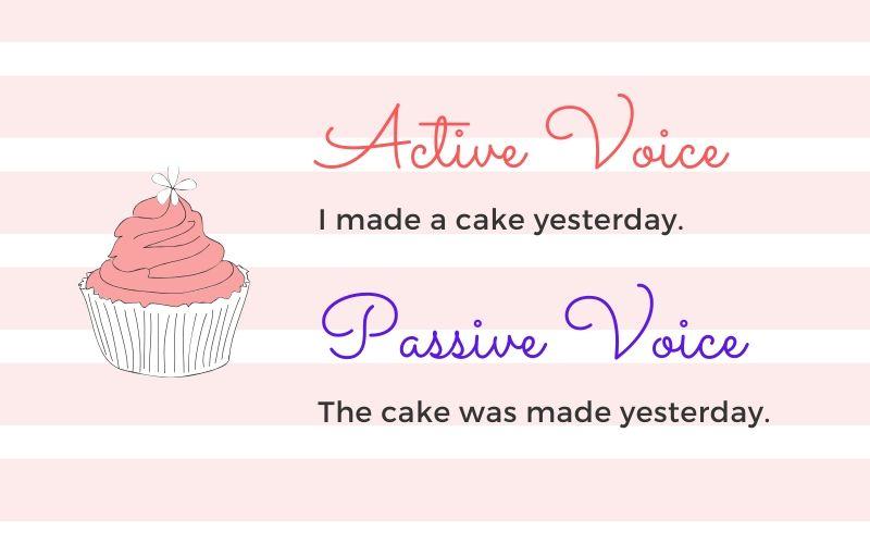 пассивный и активный залог в английском языке