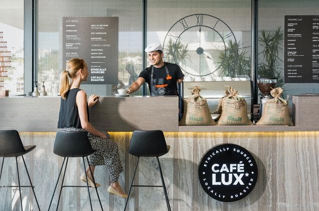 диалог на английском в кафе